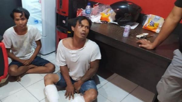 Polisi Tangkap 2 Perampok di Batam, Satu Orang Menangis saat Dilumpuhkan