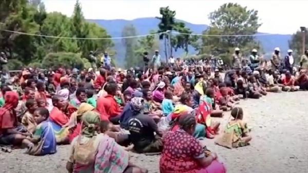 Warga di Intan Jaya Mengungsi hingga ke Nabire dan Paniai Sejak 2020
