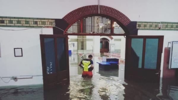 Stasiun Semarang Tawang Banjir, Perjalanan Kereta Dialihkan ke Poncol