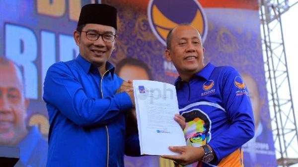 Soal Isu Ridwan Kamil Incar Kursi Ketua DPD Golkar Jabar, Ini Kata NasDem