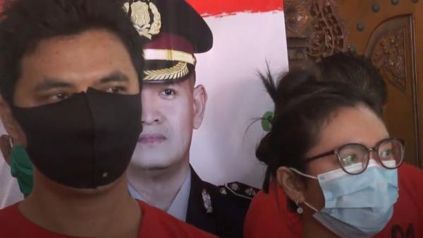 Kompak Edarkan Narkoba, Pasutri asal Jepara Ditangkap Polisi