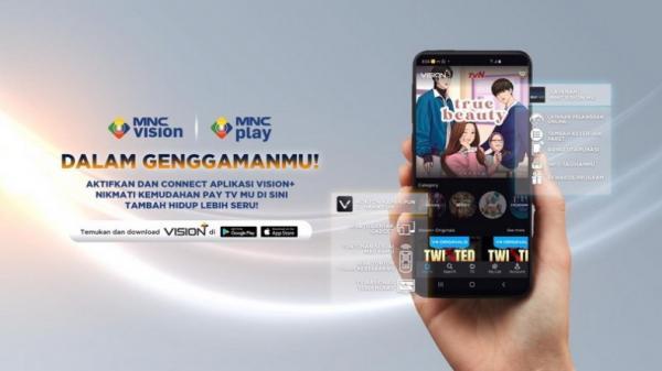 Vision+, Platform Streaming Online Terbesar Nomor Enam di Indonesia