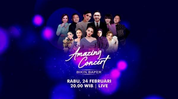 Ayu Ting Ting, Denny Caknan & Happy Asmara Siap Hibur Kaum Patah Hati di Amazing Concert GTV