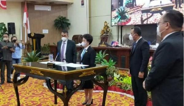 Andrei Angouw-Richard Sualang Ditetapkan Jadi Wali Kota-Wakil Wali Kota Manado Terpilih