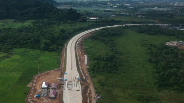 Progres Pembangunan Jalan Tol Padang-Pekanbaru Sepanjang 32,4 Kilometer