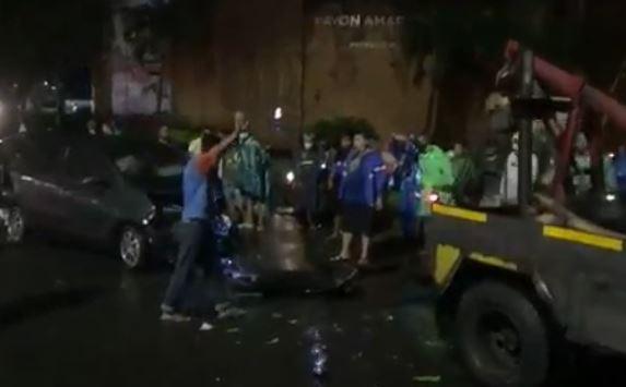 Truk Rem Blong Tabrak 4 Kendaraan di Ngaliyan, 1 Orang Tewas