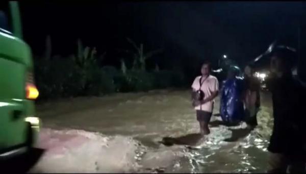 Banjir Bandang Susulan Terjang Desa Bakalan Pati, Warga Panik Selamatkan Diri