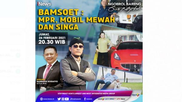 Ketua MPR Bambang Soesatyo: Antara MPR, Mobil Mewah, dan Singa