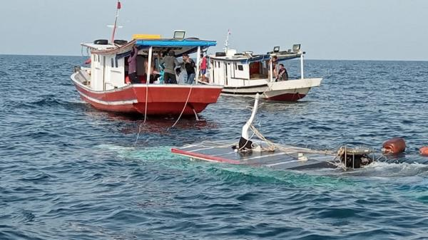 Kapal 6 Pemancing asal Jakarta Tenggelam di Pulau Tunda Serang, Satu Tewas