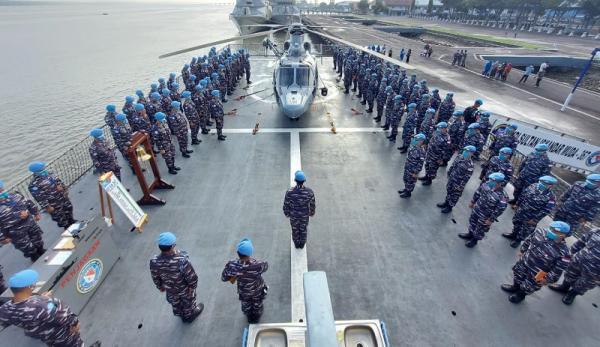 Satgas MTF TNI Kontingen Garuda XXVIII-M Unifil Bertolak ke Lebanon