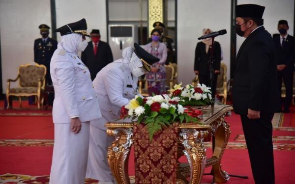 Jadi Kepala Daerah Perempuan Pertama di Sumatera, Ratna-Suwarti Akan ke Desa-Desa