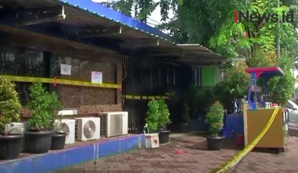 Video Kafe RM di Cengkareng Jakbar Disegel Permanen Pascapenembakan