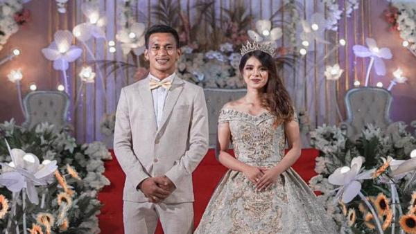 Selamat! Winger Persija Jakarta Osvaldo Haay Menikah