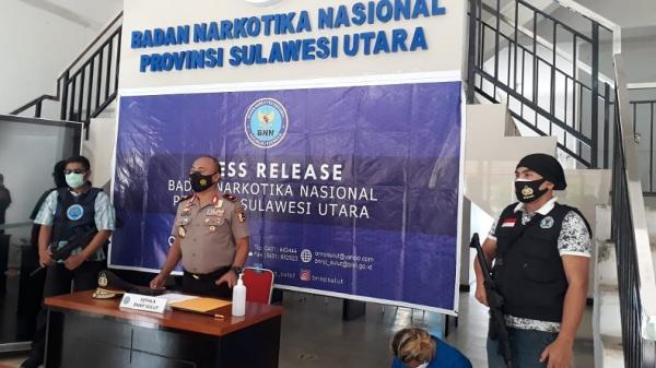 Oknum Sopir Truk Asal Sulteng Ditangkap Bawa Sabu di Manado