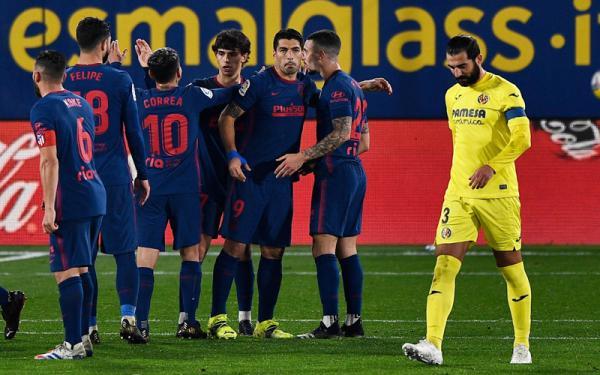 Atletico Madrid Taklukkan Villarreal, Diego Simeone Ukir Sejarah