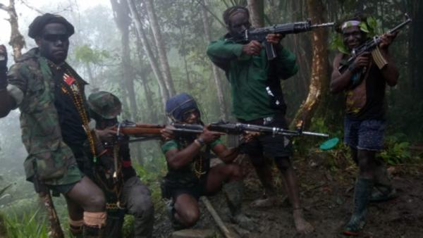 Begini Gaya KKB Papua Menenteng Senjata sebelum Ditembak Mati Satgas Nemangkawi