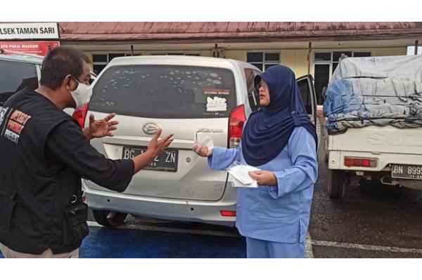 Buru-buru ke Klinik, Dokter Tak Pakai Masker di Mobil Kena Razia