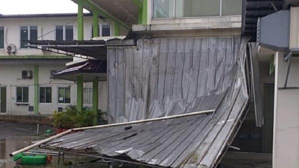 Puluhan Rumah Warga di Leuwiliang Bogor Rusak Diterjang Puting Beliung