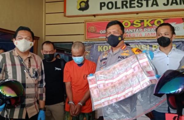 Perampok Tauke Sawit Rp465 Juta di Jambi Ditangkap, 1 Buron