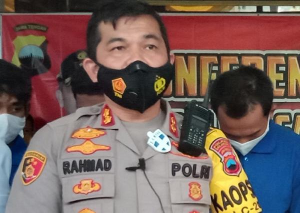 Dukung Penyidikan Polda Jateng, Kapolres Salatiga Copot Jabatan Bripka AA