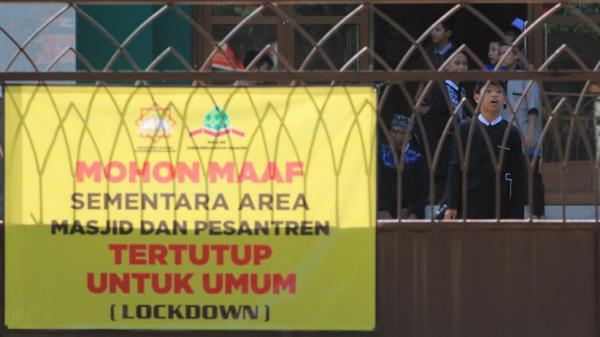 73 Santri Positif Covid, Pondok Pesantren di Indramayu Lockdown