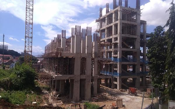 Pembangunan 189 Unit Rumah Deret Tamansari Bandung Segera Rampung