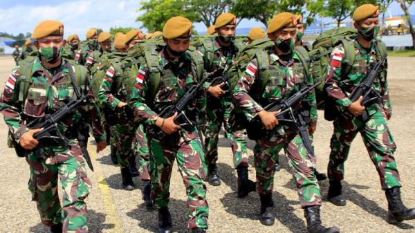 Ratusan Prajurit TNI Purnatugas Jaga Perbatasan RI-Timor Leste