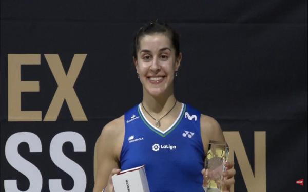 Hasil Lengkap Swiss Open 2021: si Cantik Carolina Marin Ukir Rekor usai Juara