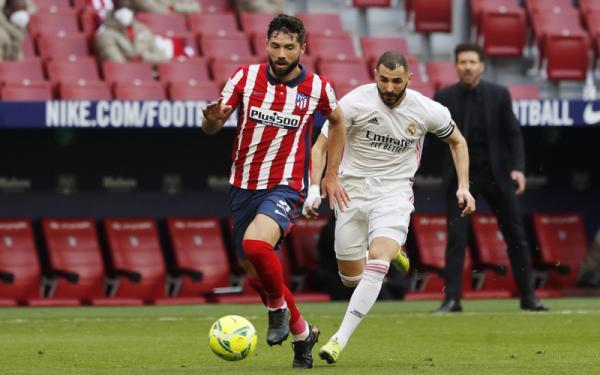 Atletico Vs Real Madrid Tanpa Pemenang, Karim Benzema Lewati Rekor Roberto Carlos