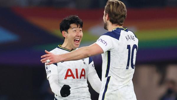 Tottenham Bantai Crystal Palace, Kane dan Son Lewati Rekor Shearer-Sutton