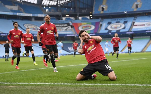 Tren Kemenangan Manchester City Rusak di Tangan MU