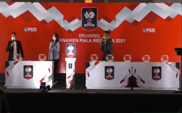 Hasil Drawing Fase Grup Piala Menpora 2021: Persija dan Evan Dimas Reuni