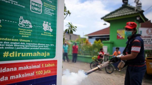 Kasus DBD di Padang Turun karena Pandemi Covid-19