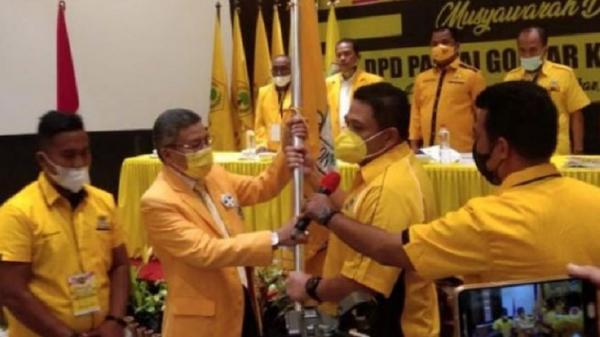 Terpilih Aklamasi, Munafri Arifuddin Ketua Golkar Makassar