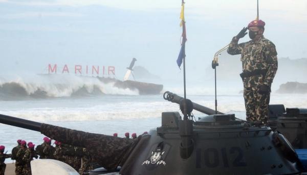 300 Prajurit Remaja Korps Marinir Sandang Baret Ungu, KSAL: Tempa Jiwa Ragamu Sekeras Baja