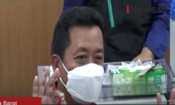 Video Sekda Pemkot Bandung Positif Covid-19