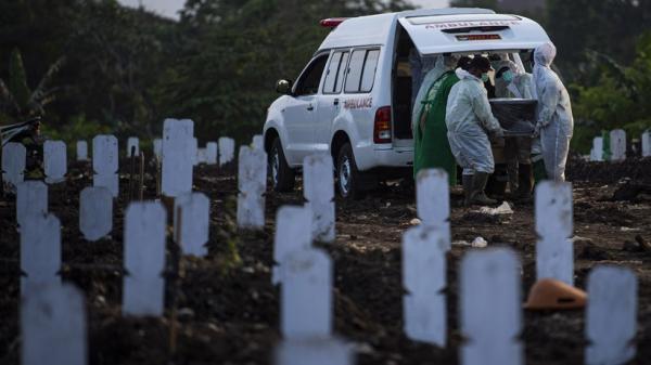 Kasus Kematian Covid-19 di Jawa Timur Tertinggi Nasional