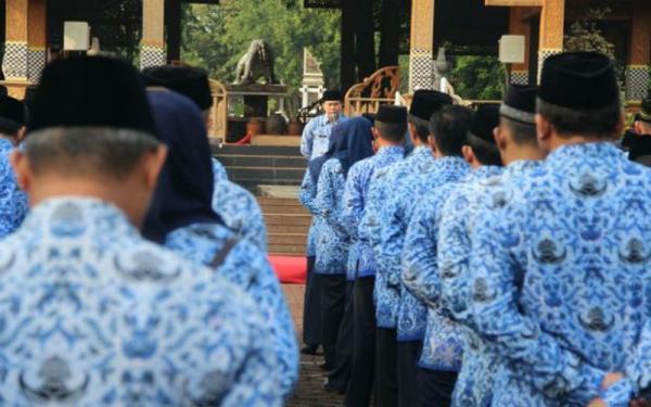 Ingat! Setiap Selasa dan Kamis, ASN Wajib Dengarkan Lagu Indonesia Raya