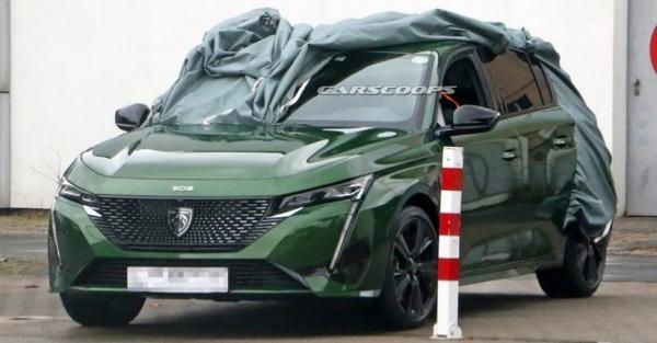 Generasi Terbaru Peugeot 308 Terkuak