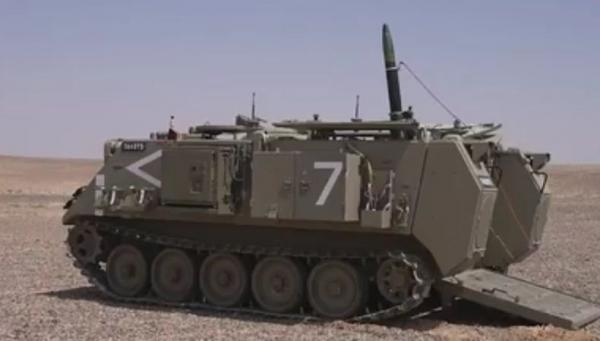 Israel Bikin Mortir Baru Berpemandu Sinar Laser untuk Perang Kota