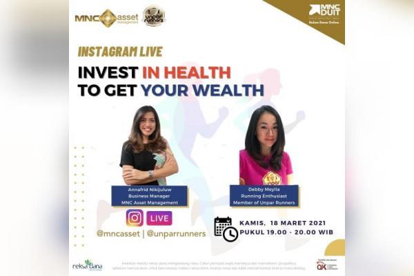 Maksimalkan Cuan dengan Investasi Kesehatan, Simak IG Live MNC Asset Besok Pukul 19.00!