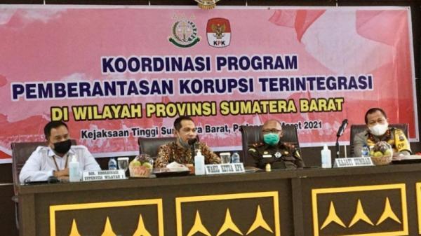 KPK ke Kepala Daerah di Sumbar: Jangan Korupsi karena Balas Budi