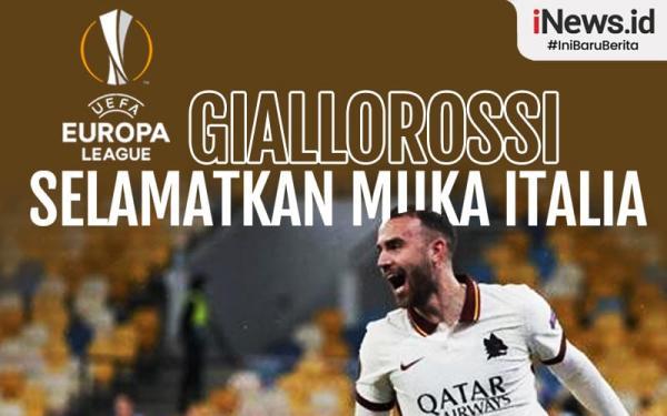 Infografis 8 Tim yang Lolos Perempat Final Liga Europa