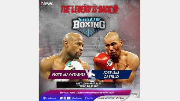Floyd Mayweather Jr Vs Jose Luis Castillo, Saksikan di Total Boxing Sabtu Pukul 18.30 WIB