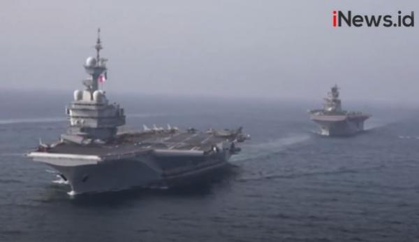 Bersitegang dengan Iran, 4 Negara Ini Latihan Militer Bersama