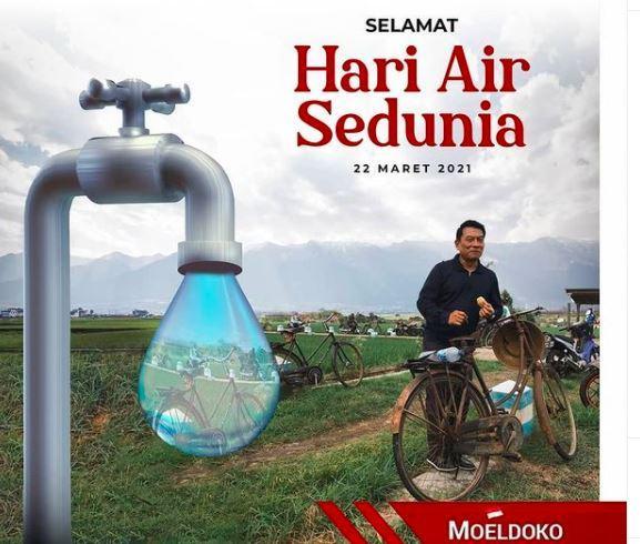 Posting Ucapan Hari Air Sedunia, Moeldoko Diminta Minta Maaf ke SBY, Ada Apa?