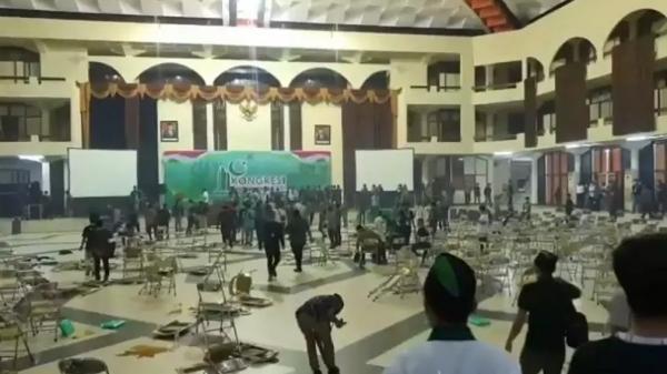 Kongres HMI di Surabaya Ricuh, Rombongan dari Makassar Jadi Perhatian Polisi