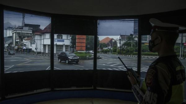 Tilang Elektronik, Polda Bali Pasang Kamera CCTV di Simpang Buagan Denpasar