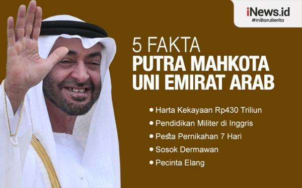 Infografis Sosok dan Fakta MBZ, Putra Mahkota UEA