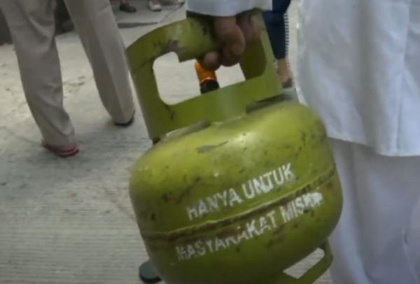 Video Pria di Matraman Kepergok Curi Tabung Gas